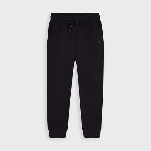Joggers with elastic cuffs 725 coal